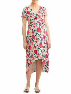 Liz Lange MaternityMaternity Hi-low Wrap Dress