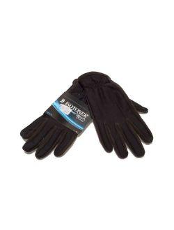 Mens Gloves Black Smart Touch Size L/g
