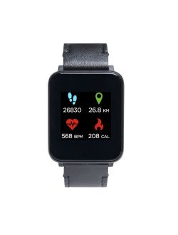 iTech Unisex Fusion Silicone Strap Smartwatch