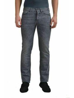 Lanvin Men's Light Gray Slim Classic Jeans Size 28 29 30 31 32