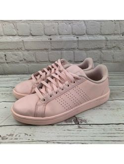 Buy Adidas NEO Cloudfoam Advantage Stripe Court Pink Sneakers ...