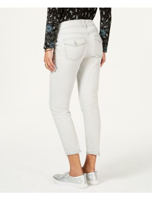 Style & Co. 0088 Size 14 NEW Washed Mint Skinny-Leg Jeans Ankle Released-Hem $54