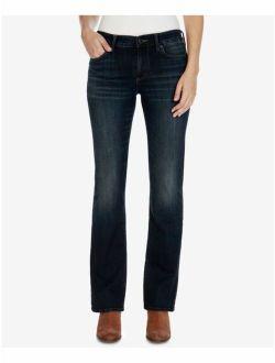 $90 Womens New 1733 Blue Distressed Casual Jeans 26 Waist B+b