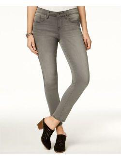 Style & Co. 5442 Size 12S NEW Dark Gray Skinny-Leg Jeans 5-Pockets Short $49