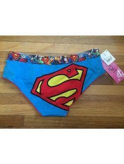 SUPERMAN Themed ~ Ladies Women's Panties Underwear ~ XS S M L XL ~ NEW