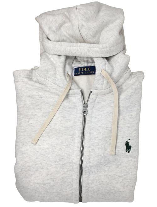 RALPH LAUREN Polo Classic Full-Zip Fleece Hooded Sweatshirt