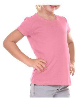 Kavio Girls 3-6X Scalloped Scp Neck Top, Style P1C0328