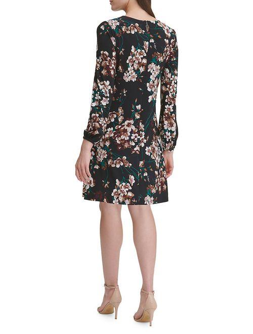 Romantic Azalea Jersey Shift Dress