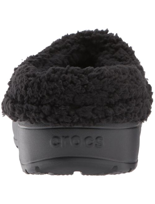 Crocs Unisex-Adult Blitzen III Clog | Indoor or Outdoor Warm and Fuzzy Shoe