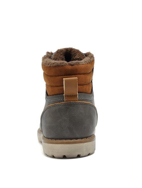 Quicksilk Eyushijia Men's Waterproof Snow Boots Hiking Boot