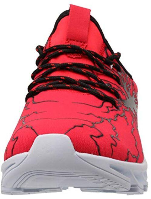 BRONAX Men's Stylish Graffiti Personality Sneakers