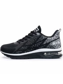 GANNOU Men's Air Athletic Running Shoes Fashion Sport Gym Jogging Tennis Fitness Sneaker(US7-12.5 D(M)