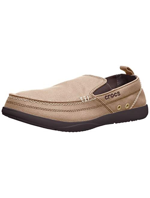 Crocs Men's Walu Canvas Slip-On Loafer