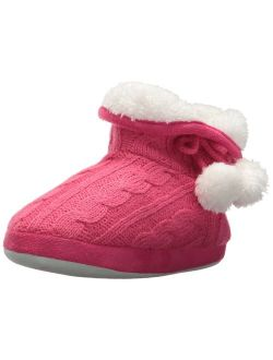 Girls' Cozy Boot Slippers