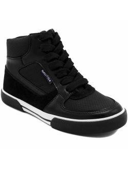 Kids Horizon Sneaker-lace Up Fashion Shoe- Boot Like High Top (little Kid/big Kid)