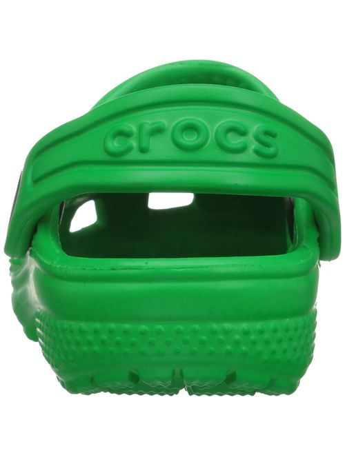 Crocs Kids' Classic Clog, Grass Green, 9 M US Toddler