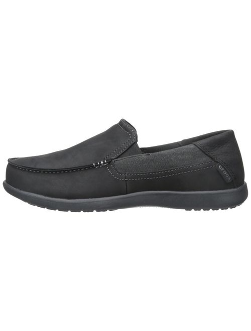 Crocs Men's Santa Cruz 2 Luxe Leather Loafer