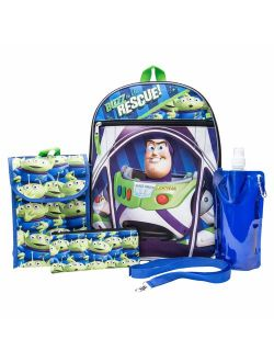 Toy Story Backpack Combo Set - Disney Toy Story Boys' 6 Piece Backpack Set