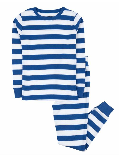 Leveret Striped Kids & Toddler Boys Pajamas 2 Piece