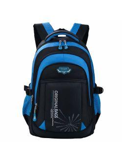 Fanspack School Bags for Boys Backpack Kids Backpack Bookbags School Backpack