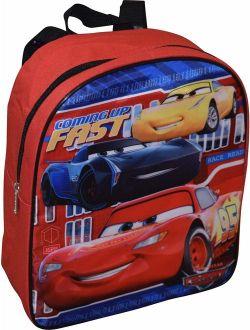 """Pixar Cars Mcqueen 12"""" Backpack"""