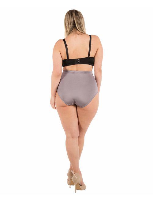 Barbras 6 Pack Womens High-Waist Tummy Control Girdle Panties