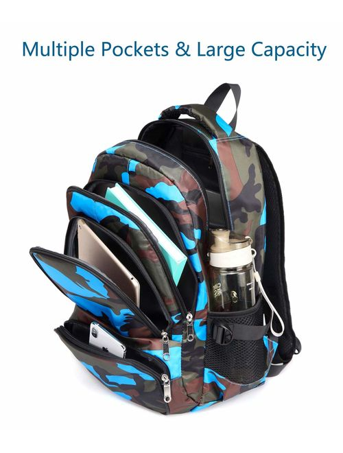 BLUEFAIRY Kids Backpacks for Boys Girls Elementary School Bags Cute Bookbags