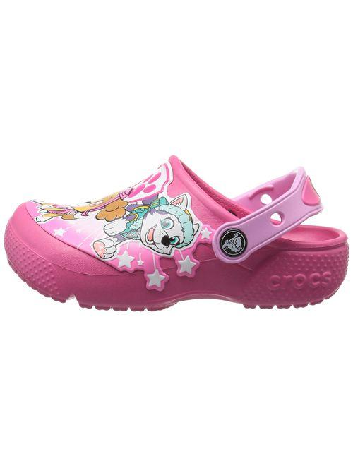 Crocs Kids' Fun Lab Girls Paw Patrol Clog