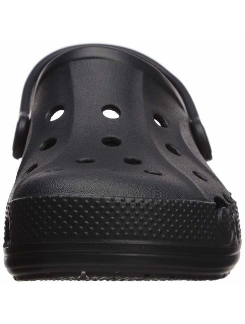 Crocs Kids' Baya Clog |Comfortable Slip On Water Shoe for Toddlers, Boys, Girls, Black, 6 M US Toddler