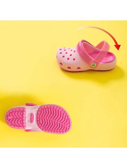 KaKaKiKi Toddler Kid Slipper Boy Girl Sandal Garden Shoe Cartoon Comfort Clogs Summer Slip On Backstrap Water Beach Pool Lightweight Shoes