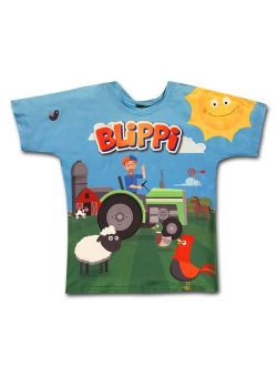 Llc Child Tractor Shirt For Kids By Blippi