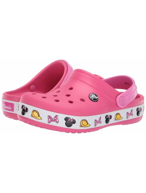 Crocs Kids' Boys and Girls Crocband Disney Minnie Mouse Clog