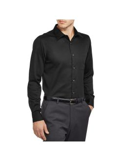 Men's Slim Fit Sateen Dress Shirt