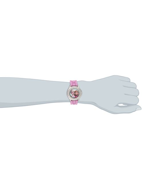 Disney Kids' FZN3554 Frozen Anna and Elsa Rhinestone Pink Band