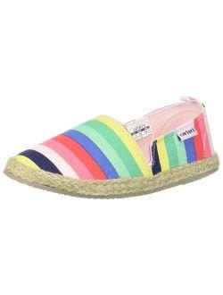 Carter's Kids Ari Girl's Espadrille Slip-On Loafer Flat