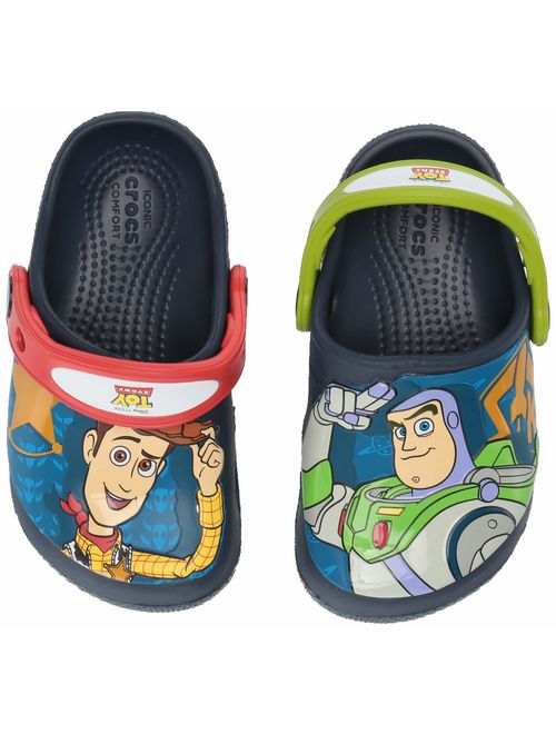 Crocs Kids Boys and Girls Toy Story Buzz and Woody Clog