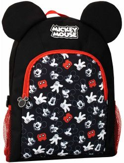 Boys Mickey Mouse Backpack Black