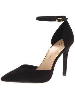 Women's Ankle Strap Cirrus Heel Pumps
