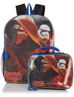 Boys' Kylo Ren And Stormtrooper Backpack With Lunch Kit