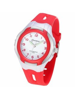 Kids Analog Watch Girls Boys,Child Waterproof Learning Time Wrist Watch with Glowing Hand Easy to Read Time WristWatches for Kids as Gift