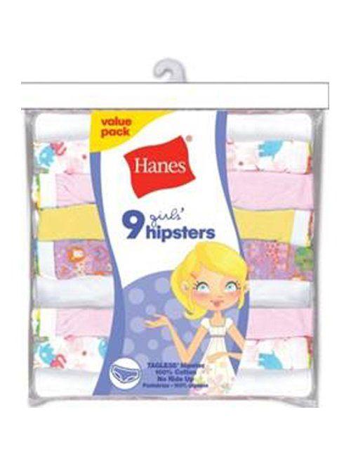 Hanes Girls' Hipster Multipack