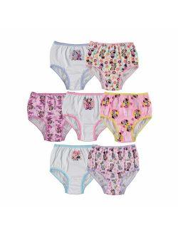 Little Girls' Minnie Seven-pack Of Brief Underwear