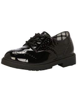 Children's Boy's Girl's Lace-up School Uniform Shoes Comfort Oxford Dress Shoes (toddler/little Kid/big Kid)