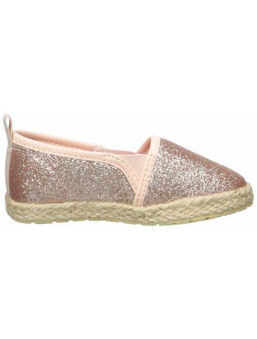 OshKosh B'Gosh Kids Belle Girl's Beachy Espadrille Flat Loafer