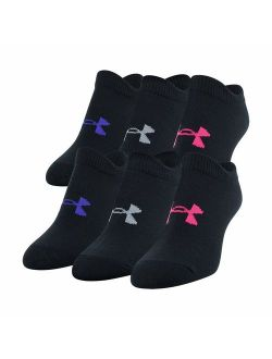 Youth Essential 2.0 No Show Socks, 6-pairs