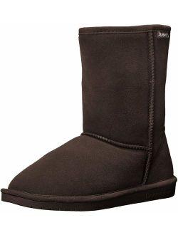 Women's Emma Short Fashion Boot, Chocolate, 8 Medium Us