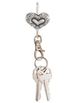 Alexx Finders Key Purse Heritage Hearts Key Finder