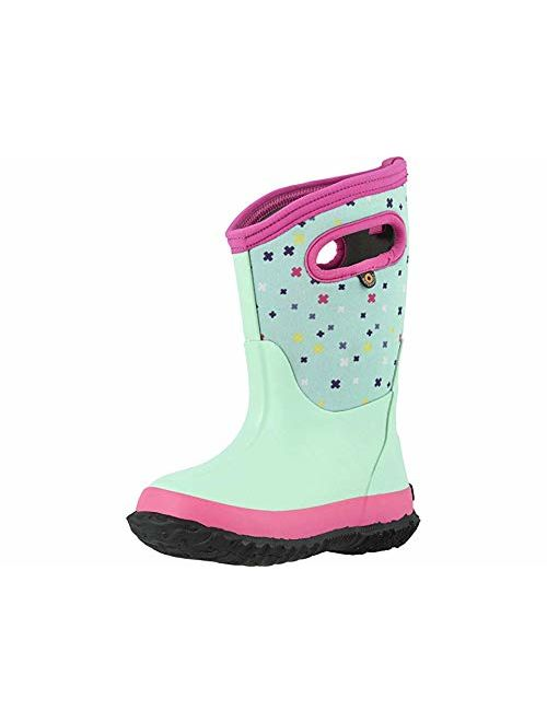 Bogs Kids Classic High Waterproof Insulated Rubber Rain and Winter Snow Boot