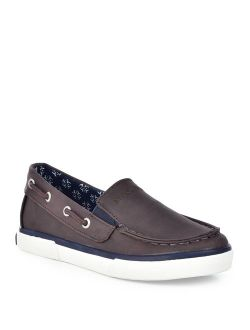 Doubloon Youth Canvas Twin Gore Slip On (little Kid/big Kid)