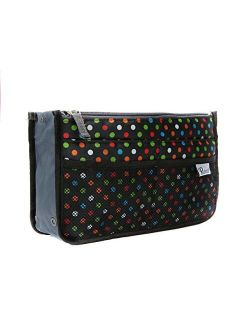 Periea Purse Organizer Insert Handbag Organizer - Chelsy - 28 Colors Available - Small, Medium or Large